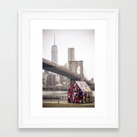 dumbo Framed Art Prints featuring dumbo by dgpmiami