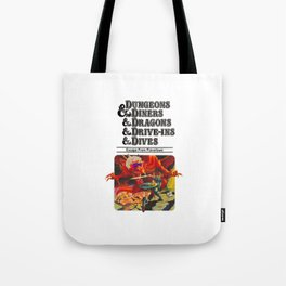 Escape from Flavortown - dungeons dragons Tote Bag