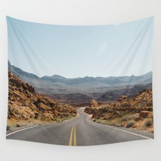 On the Desert Road Wall Tapestry