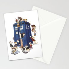 Doctor Mew Stationery Cards