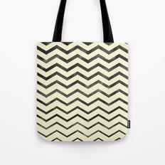 Zag (natural) Tote Bag