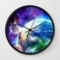 constellation Wall Clocks featuring Constellation by J ō v