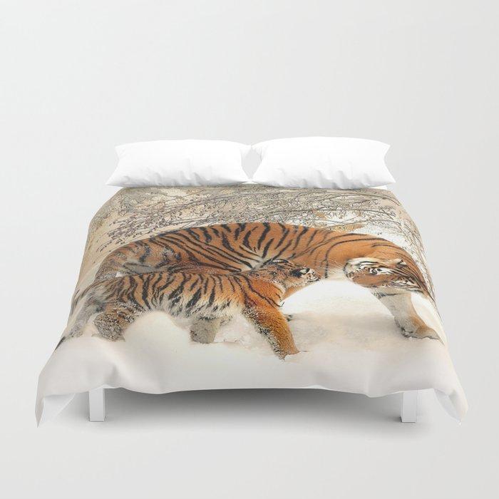 Tiger_2015_0125 Duvet Cover
