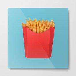 Sweet Fries Metal Print