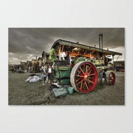 Showmans under a moody sky  Canvas Print