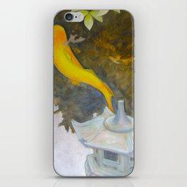 koi pond 11 iPhone Skin