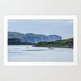 Skye Falls Art Print