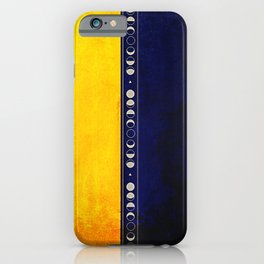 Golden Night iPhone Case