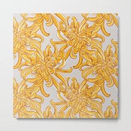 Chrysanthemum bloom Metal Print