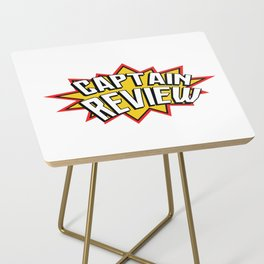 Captain Review Side Table