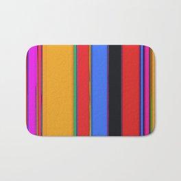 Bright stripes Bath Mat