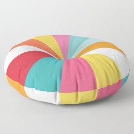 Color Wheel Floor Pillow