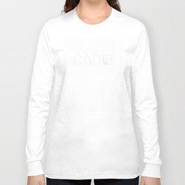 CAD monkey Long Sleeve T-shirt