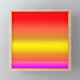 Vivid Colored Gradient Framed Mini Art Print