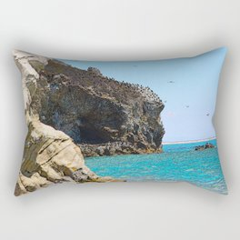 Avila Beach Cliffs Rectangular Pillow