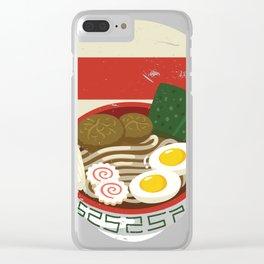 Noodle Lover Ramen Fan Gift product for Noodle Ramen Fans Clear iPhone Case
