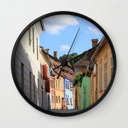 Sighisoara V Wall Clock