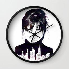 City Girl Wall Clock