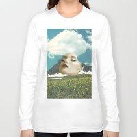 rushmore Long Sleeve T-shirts featuring Mount Rushmore by Jordan Clark