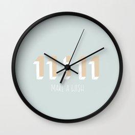 Make A Wish. Wall Clock