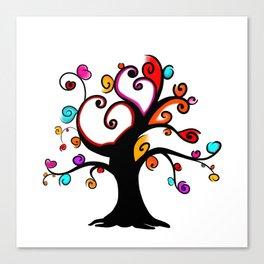 Love Blossoms - Spring burst Canvas Print
