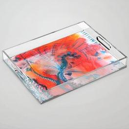 Joyous Lines Acrylic Tray