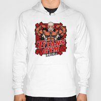 gym Hoodies featuring T gym by Buby87