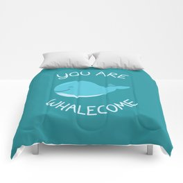 Whale, thank you! Comforters