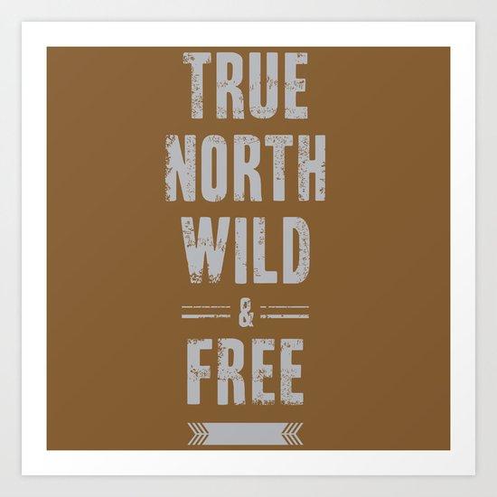 True North Art Print
