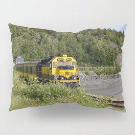 Knik River Mts. Pop Art - 1 Pillow Sham