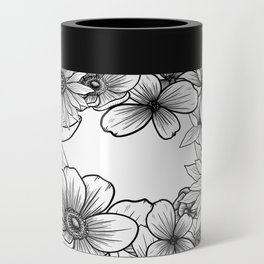 Floral Wreath Can Cooler