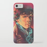 study iPhone & iPod Cases featuring A Study in Pink by Alice X. Zhang