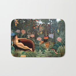 Henri Rousseau - The Dream Bath Mat