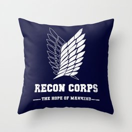 Recon Corps Throw Pillow