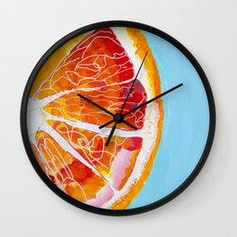 Juicy, by Miss C Wall Clock