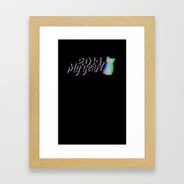 2014 My year!  Framed Art Print
