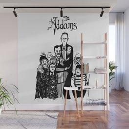 Addams Family Wall Mural