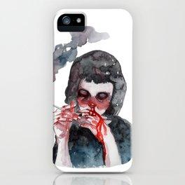I Said God Damn. iPhone Case