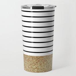 MaRINiera with gold  Travel Mug