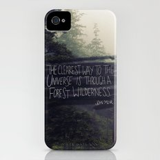 Forest Universe Slim Case iPhone (4, 4s)