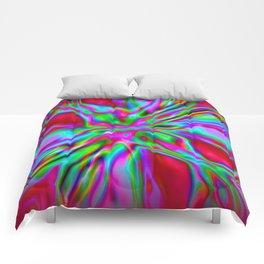 Red Foil Radiance Comforters