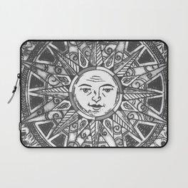 B&W Moon & Sun Laptop Sleeve