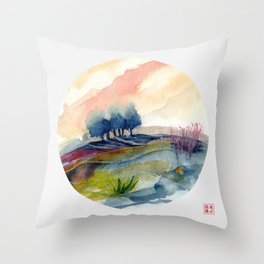 genius Loci 4 Throw Pillow