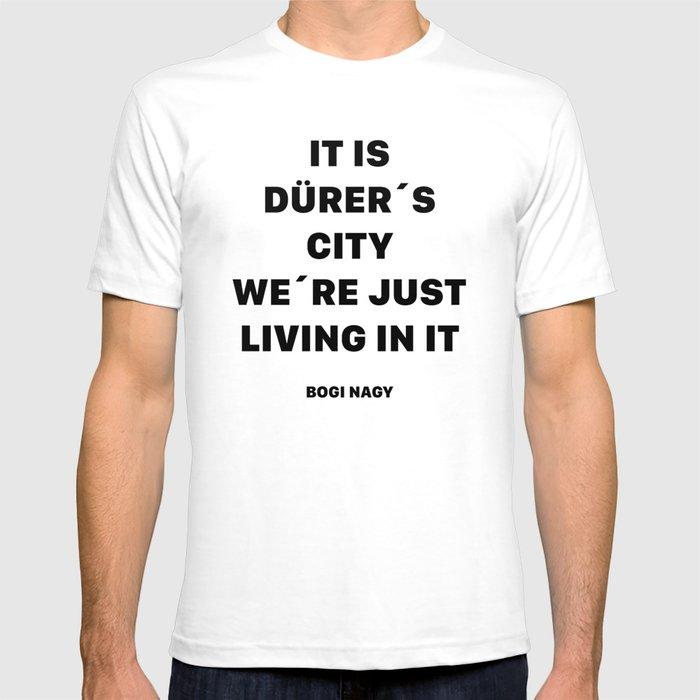 DÜRER´S CITY T-shirt