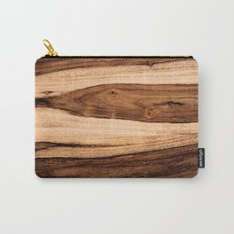 Sheesham Wood Grain Texture, Close Up Carry-All Pouch
