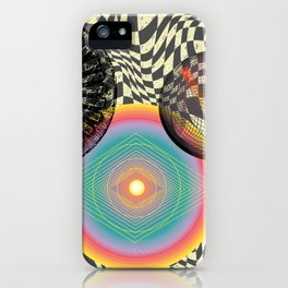 A Trip into the Cosmos iPhone Case
