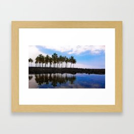 Water Beyond Water Framed Art Print