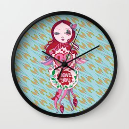 Cuckoo For You. Wall Clock