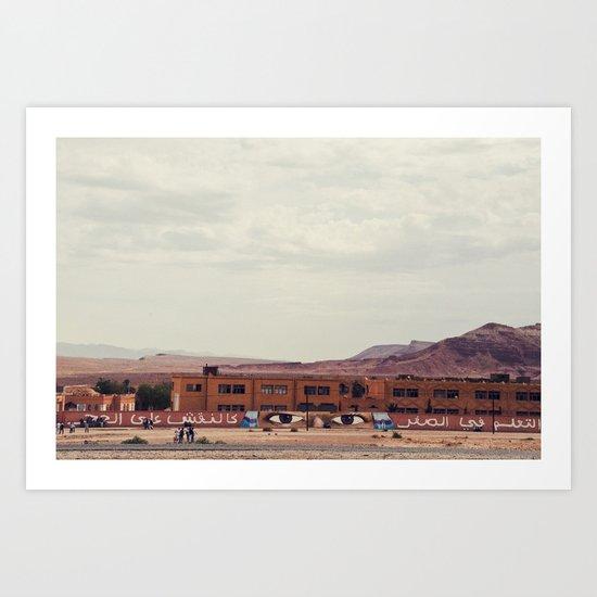 Morocco 1 Art Print