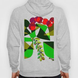 Grapes, Pomegranates, Blue Berries and Olives Hoody